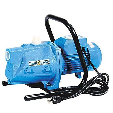 BurCam 503221S S.W 115V//230V Cast Iron Jet Pump 3//4 hp
