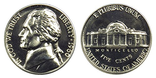1960 Proof Jefferson Nickel PF1