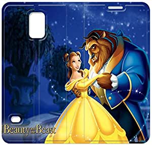 Screen Protection Phone Cases Disneys Beauty And The Beast-9 iPhone Samsung Galaxy S5 Leather Flip Case