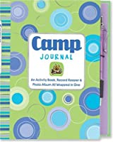 Camp: An Activity Book Record Keeper & Photo