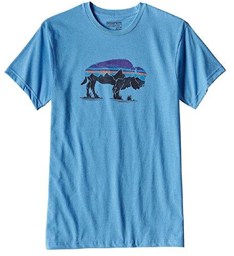 patagonia-mens-fitz-roy-bison-cotton-poly-t-shirt-small-radar-blue
