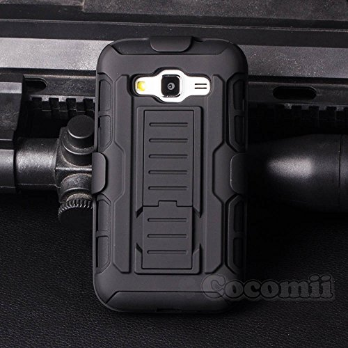 Price comparison product image Galaxy Core Prime Case, Cocomii [HEAVY DUTY] Robot Case :::NEW::: [ULTRA FUTURE ARMOR] Premium Belt Clip Holster Kickstand Bumper [MILITARY DEFENDER] Full-body Rugged Dual Layer Cover (Black)