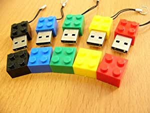 Lego Style 2GB USB Drive - GREEN