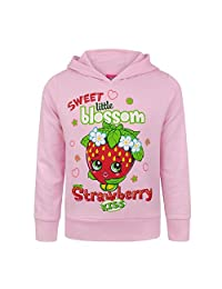 Shopkins Childrens Girls Strawberry Kiss Hoodie