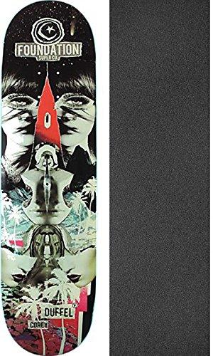 Foundation Skateboards Corey Duffel Nuclear Paradise Skateboard Deck - 8.375