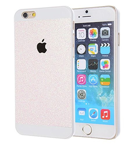 Monkey Cases® iPhone 6 - 4,7 Zoll - Premium CREME / BEIGE Glitzer Edition - Handyhülle - Original - Neu - Exklusiv - Back Cover - Business - beige