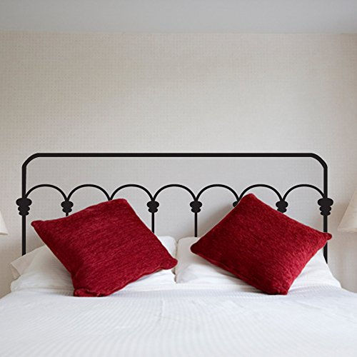 DNVEN Headboard Stickers Flowers Removable product image