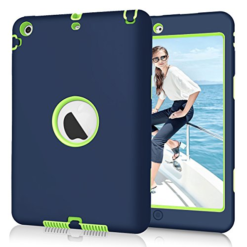 iPad mini/2/3 Case, Hocase Hybrid Dual Layer High Impact Sho
