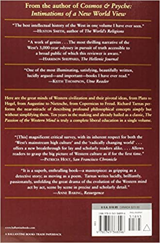 Passion of the Western Mind Understanding the Ideas That Have Shaped Our World View