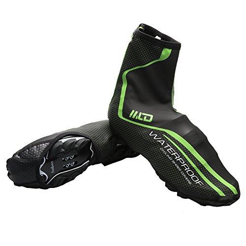 West Biking Neoprene Cycling Shoe covers Bike Bootie Wear Overshoes- Green Color (Discount Indoor Outdoor Carpet)