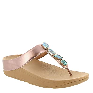 6761c79fb57 Fitflop Women s Fino Shellstone Open Toe Sandals  Amazon.co.uk ...