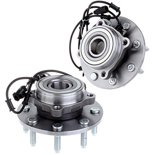 ECCPP 2 NEW Front Wheel Hub Bearing Assembly For 2003 2004 2005 DODGE RAM 2500 3500 8 Lug W/ABS
