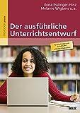 Der ausführliche Unterrichtsentwurf: Mit Online-Materialien