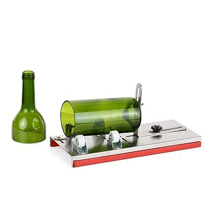 Taglia Bottiglie Di Vetro.Decdeal Taglia Bottiglie Regolabile Bottiglia Di Vetro Cutter