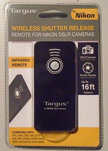 Targus Wireless Shutter Release for Nikon - Black - Targus Universal Remote