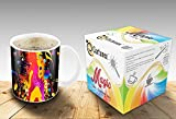 Heat Sensitive Morphing Mug | Color Changing Coffee Mug | Funny Coffee Cup | Dancing girl Magic Mug | Birthday Gift Idea for Him or Her, Mother' Gift for Mom and Father's Day Gift for Dad