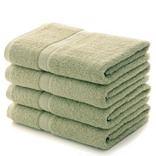 Cheer Collection 4 Piece Luxurious Hand Towel Set (16