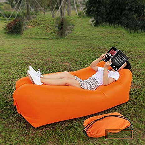 Stupendous Amazon Com Inflatable Reclining Chair Inflatable Lazy Sofa Pabps2019 Chair Design Images Pabps2019Com