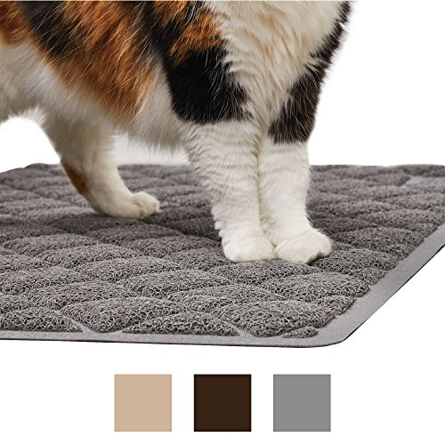 The Original GORILLA GRIP Large Premium Cat Litter Mat, Phthalate & BPA Free, 35