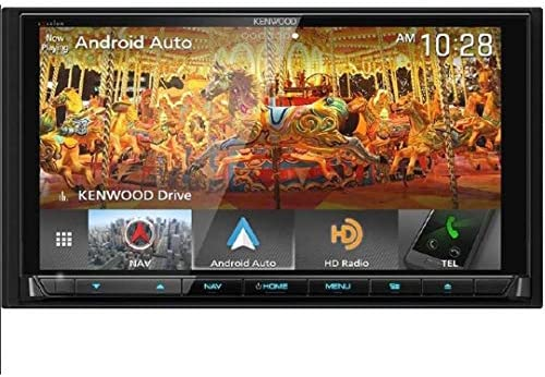 Kenwood Excelon DNX995S In-Dash Navigation System with Apple CarPlay Android Auto Renewed