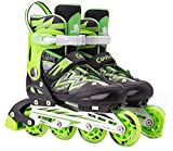 Spove Quad Roller Skates Green Large Fit EUR37-EUR41