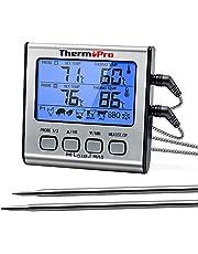 ThermoPro TP17 Cyfrowy Termometr do Mięsa, Srebrny