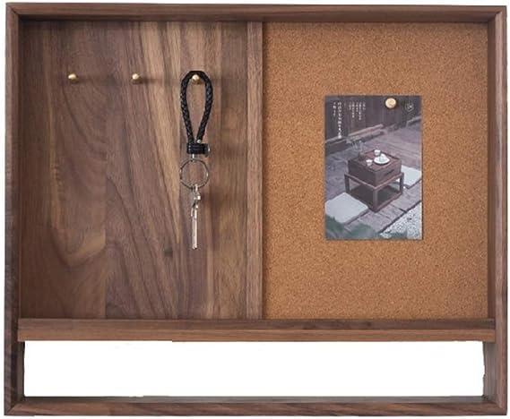 Caja de Medidor de Escultura Negro de la Cubierta de la Nuez Decorativo Clave Junta Porche Mensaje Caja de Almacenamiento Simple Switch Cuadro colgado Medidor de Pintura Eléctrica: Amazon.es: Hogar