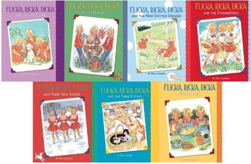 Flicka, Ricka, Dicka: Set of 7 Hardcover Books