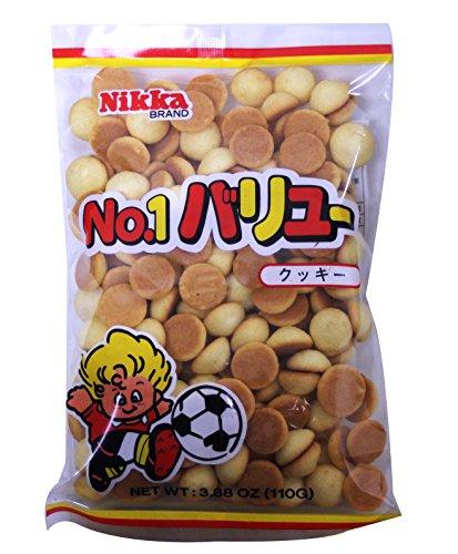 小饅頭餅乾 Nikka Tamago Boro Mini baby Egg Cookies Biscuit 110g/3.88 oz from Japan (Pack of 3)