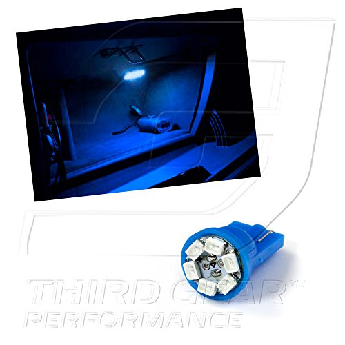 Optix TGP T10 Blue 6 LED SMD Glove Box Wedge Light Bulb Single 2005-2010 Chrysler 300 ALL