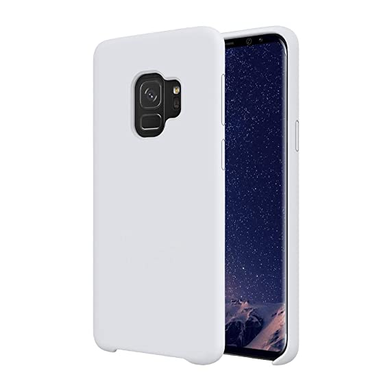 new concept 62ea8 cb896 Galaxy S9 Silicone Case, Soft Touch, Comfortable Grip, Slim Fit, Tiamat  Liquid Silicone Case with Microfiber Cloth Lining Cushion and Wireless ...