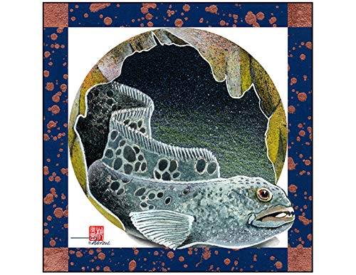 (DWS-013 Wolf Eel Sticker)