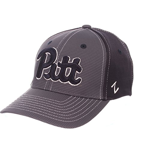 (ZHATS NCAA Pittsburgh Panthers Adult Men Grid Cap, Medium/Large, Gray/Team Color)