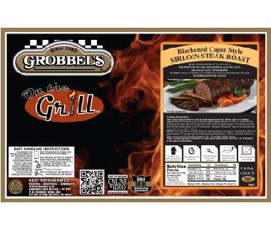Grobbel's Blackened Cajun Sirloin Steak Roast (Large)