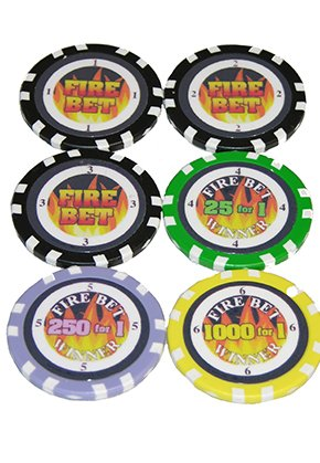 Craps Fire/Poker Fire B010R5XDZQ Betチップセットの6 Craps/Poker B010R5XDZQ, 遊岳人:2cea00f7 --- itxassou.fr