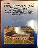 img - for Philadelphia 5 County Metro Atlas book / textbook / text book