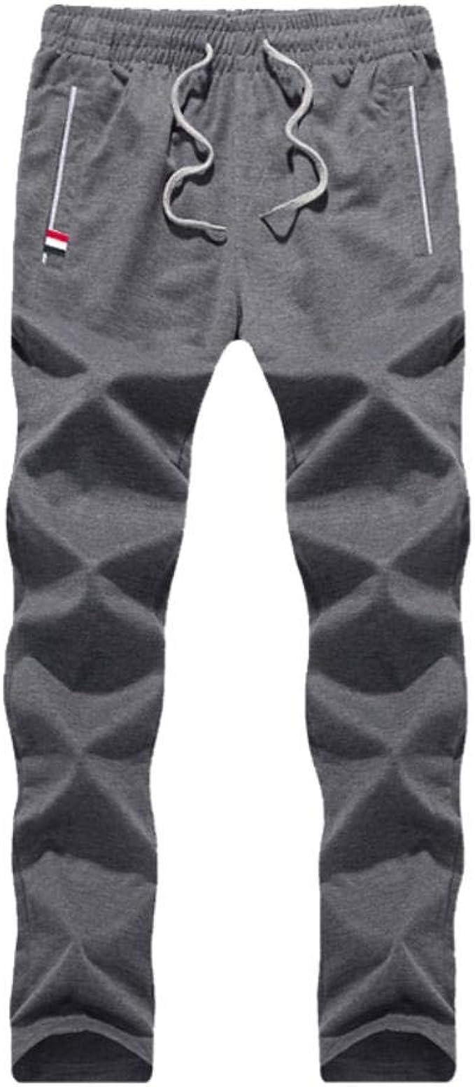 Karss 2019 - Pantalones de Deporte para Hombre (algodón, Primavera ...