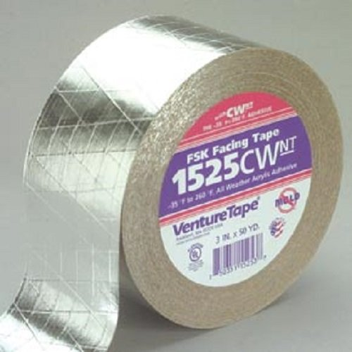 Venture Tape FSK Facing Tape 3 in x 150 ft, 1525CW.NT-N007 - Case of 16 by Venture Tape (Image #1)