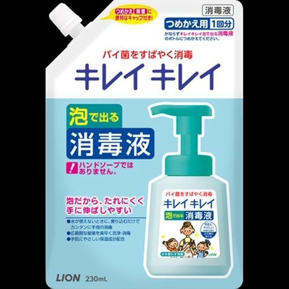 抵抗力がある影のある深さキレイキレイ 薬用泡ででる消毒液 つめかえ用 230mL ×2セット