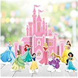 "Amscan""Disney Princess"" Pink Castle Party Table Decoration Kit, 9 Pc."