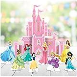"Amscan""Disney Princess"" Pink Castle Party Table Decoration Kit, 9 Pc."