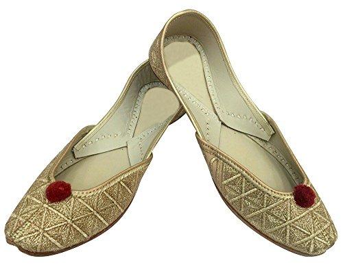 Step N Style Khussa Scarpe Jootis Etnico Mojari Fatto A Mano Pakistano Salwar Kameez Juti