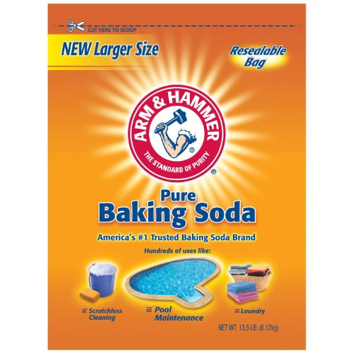 ARM & HAMMER Baking Soda, 13.5 Pound (Sodium Hydrogen Carbonate compare prices)
