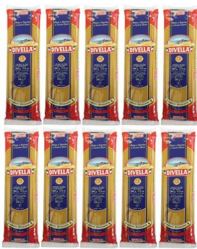 Nudeln, Pasta Divella Spaghetti Ristorante 8 (10 X 500g) - Vorratspaket