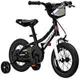 Schwinn Koen Boy's Bike, Featuring SmartStart Frame to Fit Your Child's Proportions, 12inches Wheels, Black