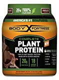 Body Fortress Vegan Plant Based Hemp and Pea Protein Powder, Great for Meal Replacement Shakes, Low Carb, Gluten Free, Chocolate, 1.51 lbs For Sale