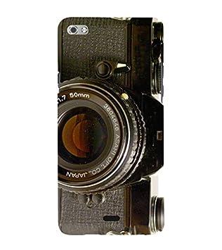 Fiobs Designer Back Case Cover for Micromax Canvas Sliver 5 Q450 :: Silver Q450  Camera Photo Picture Pic DSLR  Mobile Accessories
