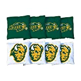 Victory Tailgate NCAA Regulation Cornhole Game Bag Set (8 Bags Included, Corn-Filled) - North Dakota State University NDSU Bison