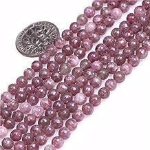 4mm Round Gemstone Pink Tourmaline Beads Strand 15 Inch Jewelry Making Beads