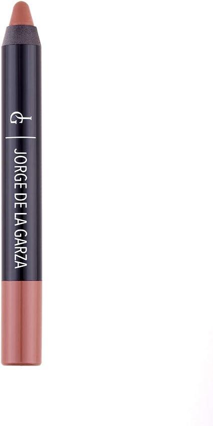 Jorge De La Garza Makeup Lip Velvet Barra De Labios Jumbo Waterproof Marrón Natural 24 Classic Amazon Es Belleza